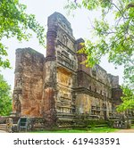 the ruins of lankathilaka image ... | Shutterstock . vector #619433591