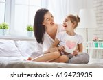 happy mother's day  child... | Shutterstock . vector #619473935