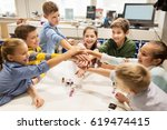 education  children  technology ... | Shutterstock . vector #619474415