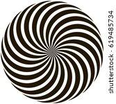 spiral circular pattern...   Shutterstock .eps vector #619485734