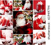 Christmas Theme  Santa Claus...