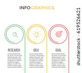 business infographics. timeline ... | Shutterstock .eps vector #619526621