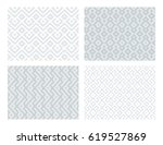 collection of four geometric... | Shutterstock .eps vector #619527869