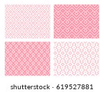 collection of four geometric... | Shutterstock .eps vector #619527881