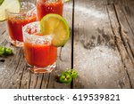 mexican traditional alcohol... | Shutterstock . vector #619539821
