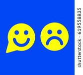 smile icon   Shutterstock .eps vector #619558835