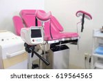 gynecological chair and other... | Shutterstock . vector #619564565