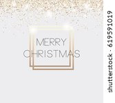 christmas card  invitation vip. ... | Shutterstock .eps vector #619591019