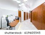 reception of modern  private... | Shutterstock . vector #619605545