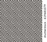 abstract geometric pattern with ... | Shutterstock .eps vector #619681079