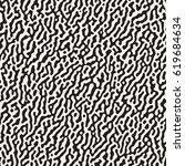 vector seamless grunge pattern. ... | Shutterstock .eps vector #619684634