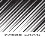 diagonal speed lines for comic... | Shutterstock .eps vector #619689761