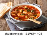 Delicious Tomato Clam Chowder...