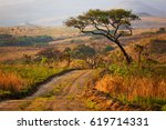 landscape in nyika national... | Shutterstock . vector #619714331