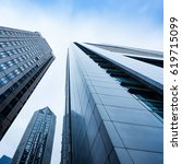 the skyscraper external...   Shutterstock . vector #619715099