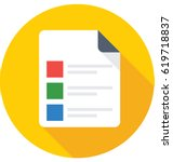 checklist vector icon | Shutterstock .eps vector #619718837