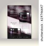 flyer  brochure or magazine... | Shutterstock .eps vector #619746647