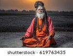 Portrait Of Sadhu Baba Nondo...
