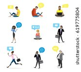 set   fashion and business...   Shutterstock .eps vector #619775804