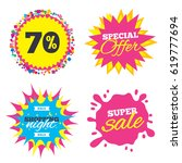 sale splash banner  special... | Shutterstock .eps vector #619777694