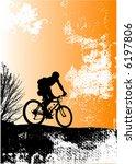 vector biker | Shutterstock .eps vector #6197806
