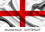 national flag of england | Shutterstock . vector #619789637
