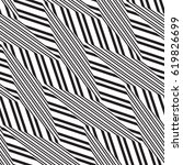 black and white geometric... | Shutterstock .eps vector #619826699