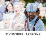 lugo  spain   august 14  ... | Shutterstock . vector #61987828