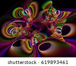 Colourful Fractal Background  ...