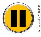 pause button | Shutterstock . vector #61989943