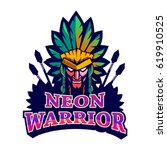 apache mascot logo   Shutterstock .eps vector #619910525