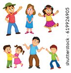 children activities | Shutterstock . vector #619926905