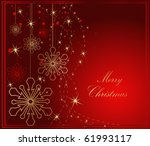 merry christmas background | Shutterstock .eps vector #61993117