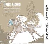 hand drawn illustration of...   Shutterstock .eps vector #619951025