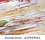 background of paint strokes | Shutterstock . vector #619969061