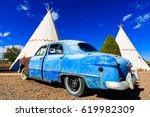 holbrook  az usa   october 29 ... | Shutterstock . vector #619982309