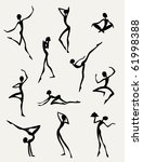 collection of different figures ... | Shutterstock .eps vector #61998388