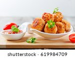 Fried Chicken Meatballs