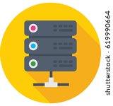 server vector icon | Shutterstock .eps vector #619990664