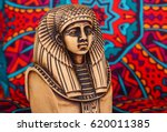 Ancient Egyptian Pharaoh Statu...