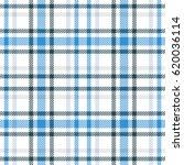 blue and white tartan seamless...   Shutterstock .eps vector #620036114