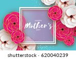 mothers day greeting card.... | Shutterstock .eps vector #620040239