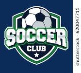 soccer football badge logo... | Shutterstock .eps vector #620047715