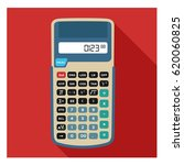 big tall scientific calculator... | Shutterstock .eps vector #620060825