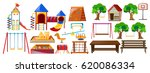 different types of play... | Shutterstock .eps vector #620086334
