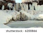 frozen minnehaha falls   Shutterstock . vector #6200866