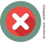 cancel vector icon    Shutterstock .eps vector #620090321