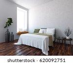 white interior design of a... | Shutterstock . vector #620092751