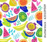 vector seamless pattern of... | Shutterstock .eps vector #620109509