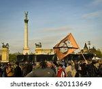 civil demonstration against the ... | Shutterstock . vector #620113649